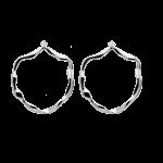 Brincos Pdpaola Akari Silver Torn AR02-068-U