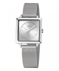 Relógio One Form Quadrado Todo Aço OL8211SS91L