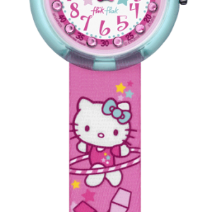 Relógio Flik Flak Hello Kitty Gym  ZFLNP025
