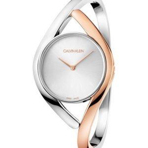 Relógio Calvin Klein Escrava Prata/Rosé K8U2MB16