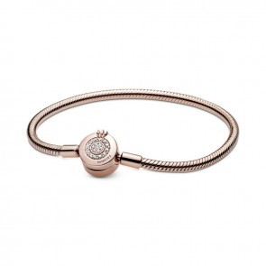 Pulseira Pandora Rose Crown O Snake 589046C01-19
