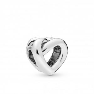 Encaixe Pandora knotted Heart Mãe19 798081