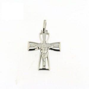 Cruz Com Cristo Aberta Pontas Alargadas A092043