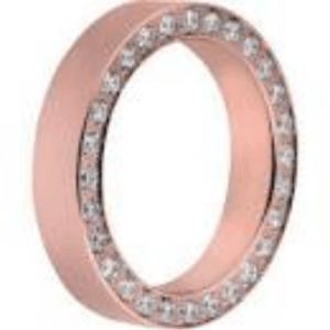 Aliança Melano Elegance Rosé 3mm M01R 4995 RG-54