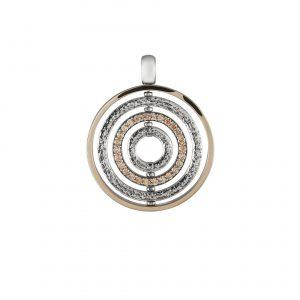 Medalha Tashi Ouro e Prata Universe MT.PE.0118.0059