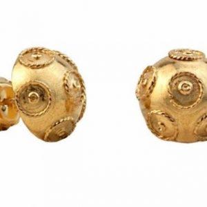 Brincos 1/2 Bola Viana 13mm Tornilho 9354