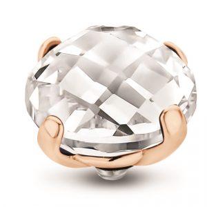 Encaixe Melano TW Facet Bold RG Crystal TM52RG00002