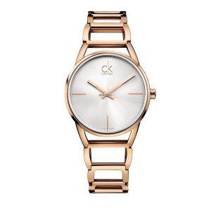 Relógio CALVIN KLEIN Stately Rosé K3G23626