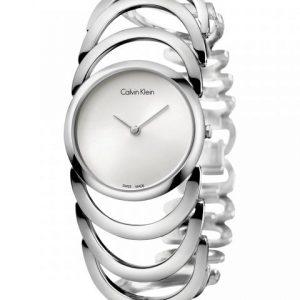 Relógio CALVIN KLEIN Body Silver Steel K4G23126