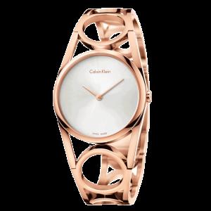 Relógio CALVIN KLEIN Round Rosé Blk Dial K5U2M646