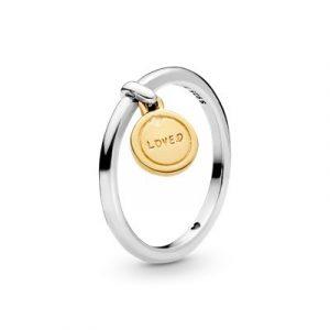 Anel Pandora Shine Love Medallion 167823-50