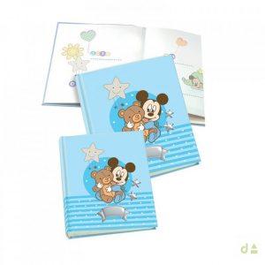 Album Mickey Azul 25X30cm 4WB0449.3C