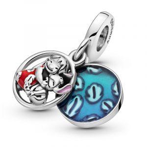 Encaixe Pandora Disney Lilo & Stitch Family Pingente 799383C01