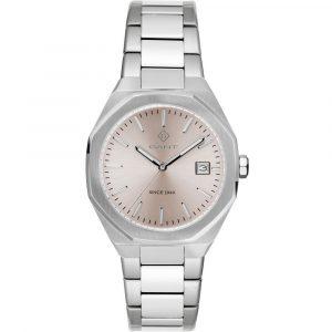 Relógio Gant Quincy T. Prateado M.Champagn