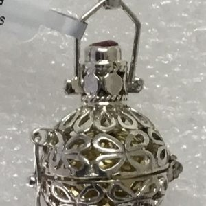 Berloque Chamador Anjos Bicolor Borboletas Lanterna 1,5cm PHB46