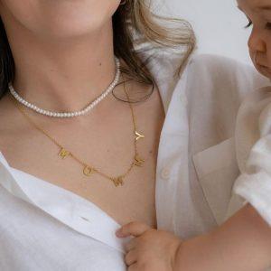 Colar AIM Dourado Mommy Prv.1414