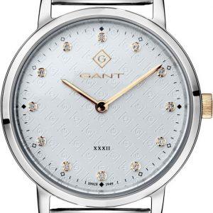 Relógio Gant Park Avenue, 32, 2H, Branco, Malha Milanesa G127012