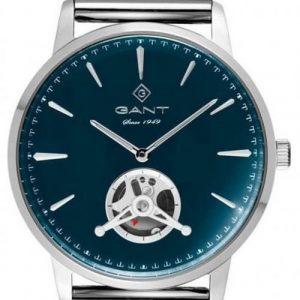 Relógio Gant Hempstead, 43, 2H, Azul, Milanesa G153006