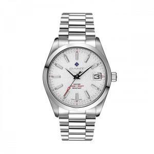 Relógio Gant Eastham, 42, 3h, Branco, Aço Preate G161001