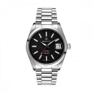 Relógio Gant Eastham, 42, 3H, Preto, Aço Preate G161002