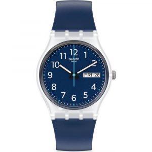 Relógio Swatch Gent Rinse Repeat Navy GE725