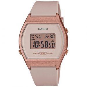 Relógio Casio Collection Rose P.Bege LW-204-4AEF