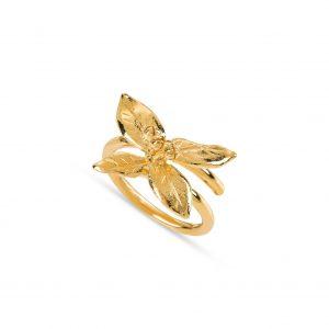 Anel Be Accori End Dourado Louro Pequeno PAN052/BAD-21