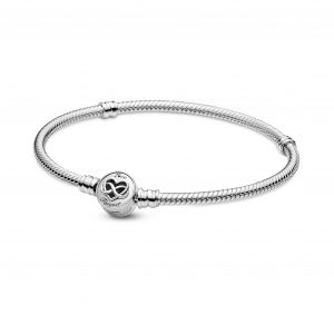 Pulseira Pandora Heart Infinity Snake 599365C00-16