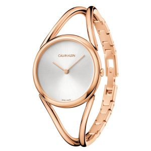 Relógio CK Lady Rosé M. Branco KBA23X26