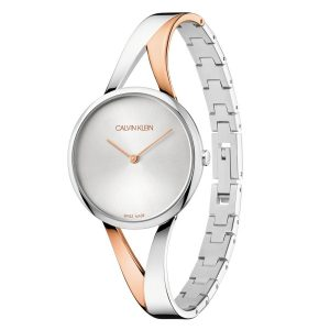 Relógio CK Sensual Bicolor M. Branco KBP23B26